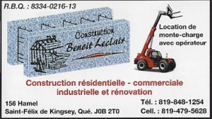 constrction benoit leclerc