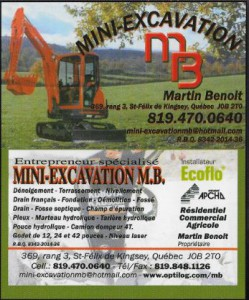 mini excavation mb